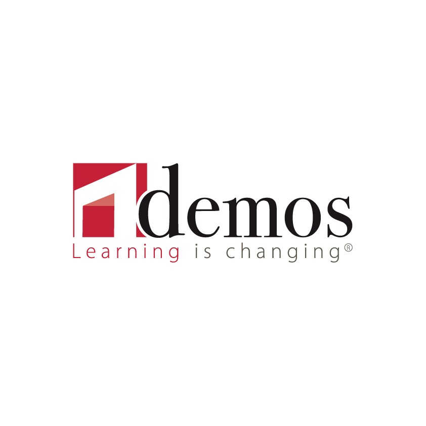 the Demos logo.