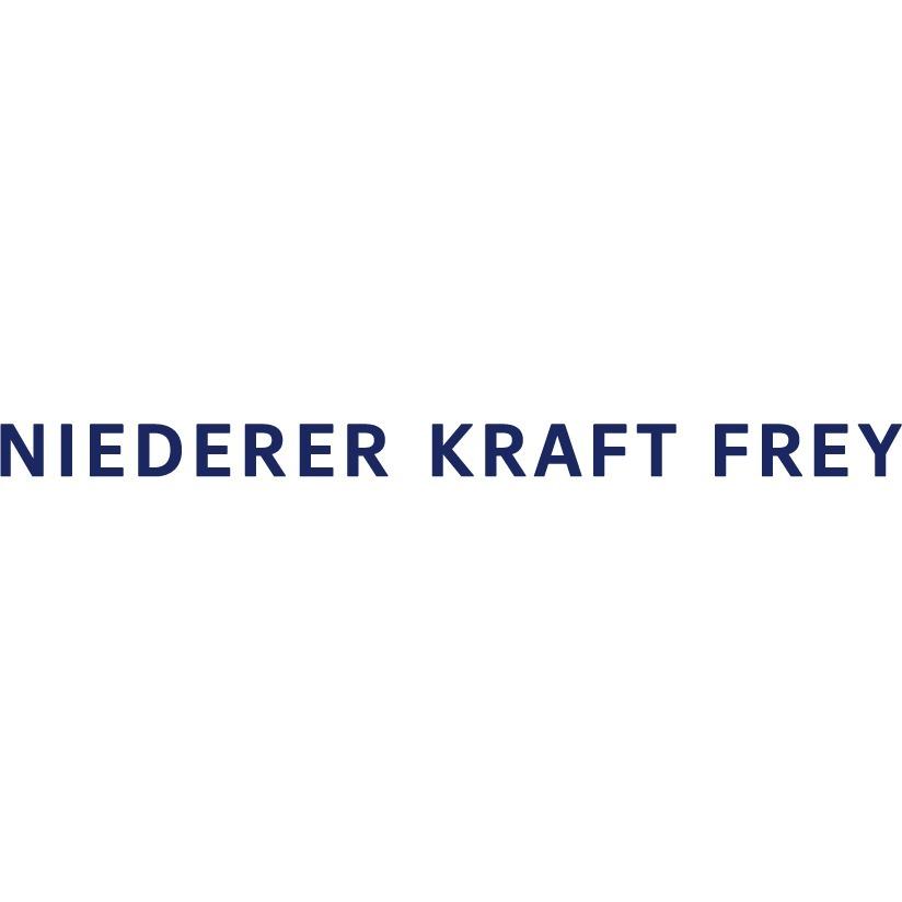 the Niederer Kraft Frey logo.
