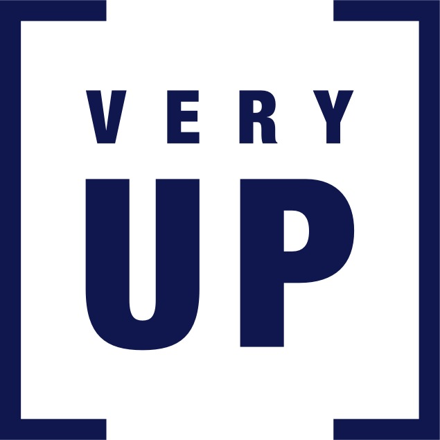 the VERY UP logo.