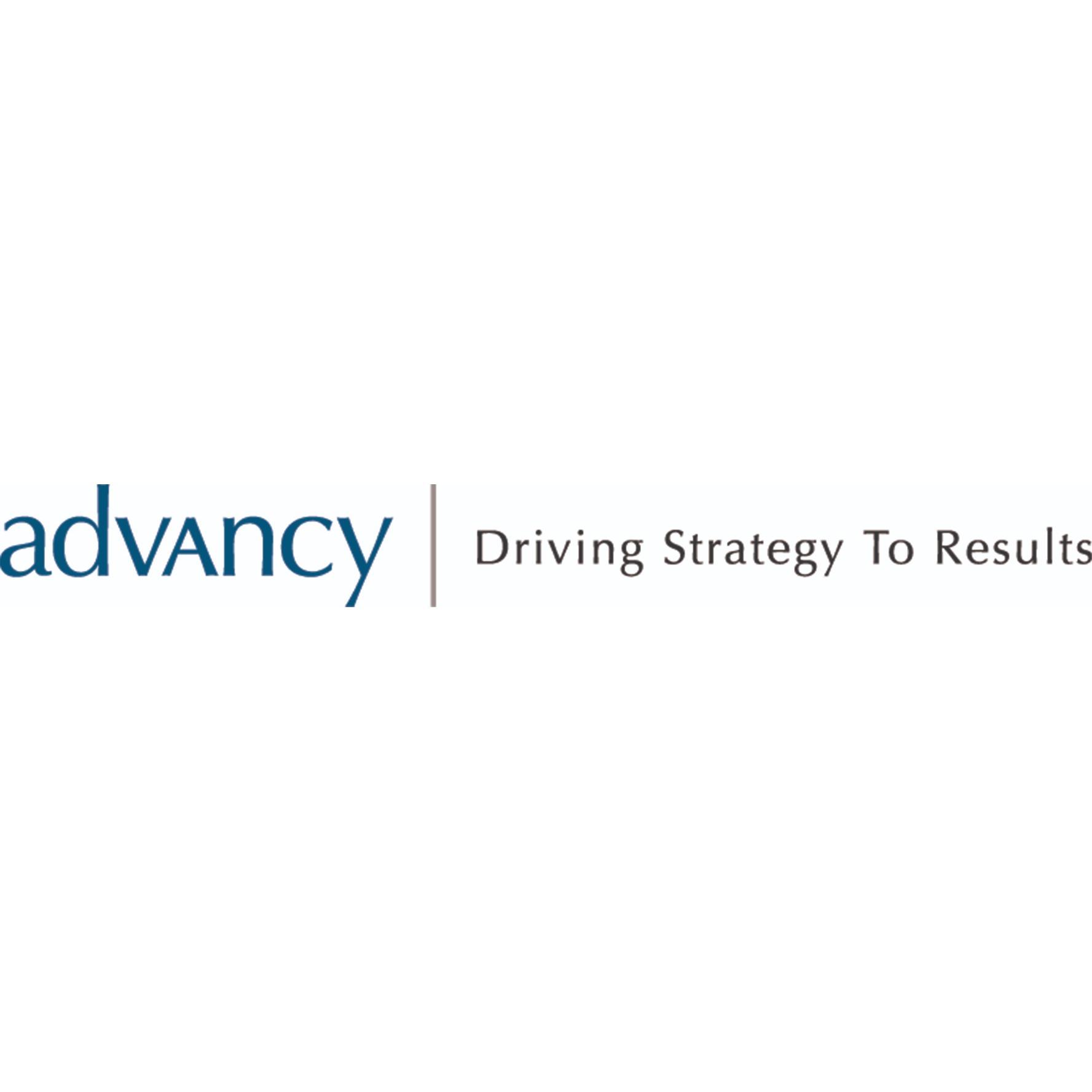 the Advancy logo.