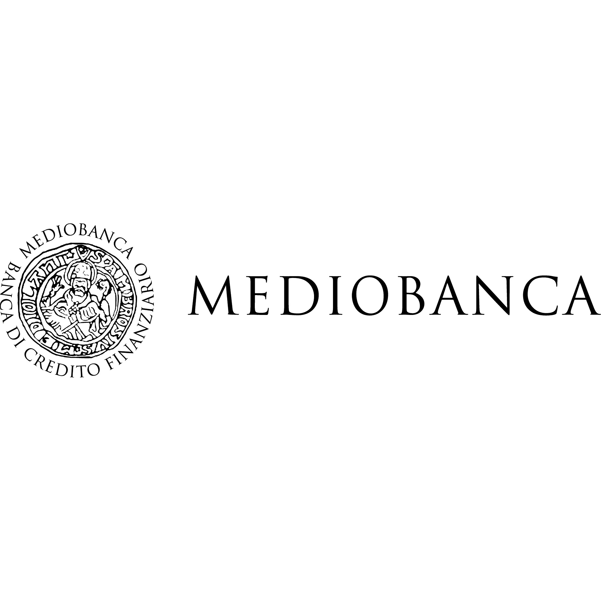 the Mediobanca logo.