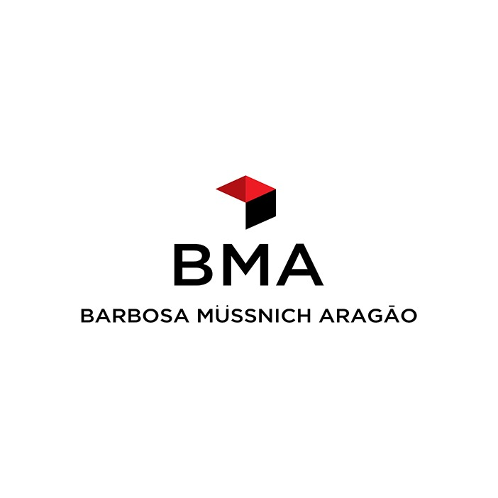the Bma - Barbosa, Müssnich, Aragão logo.