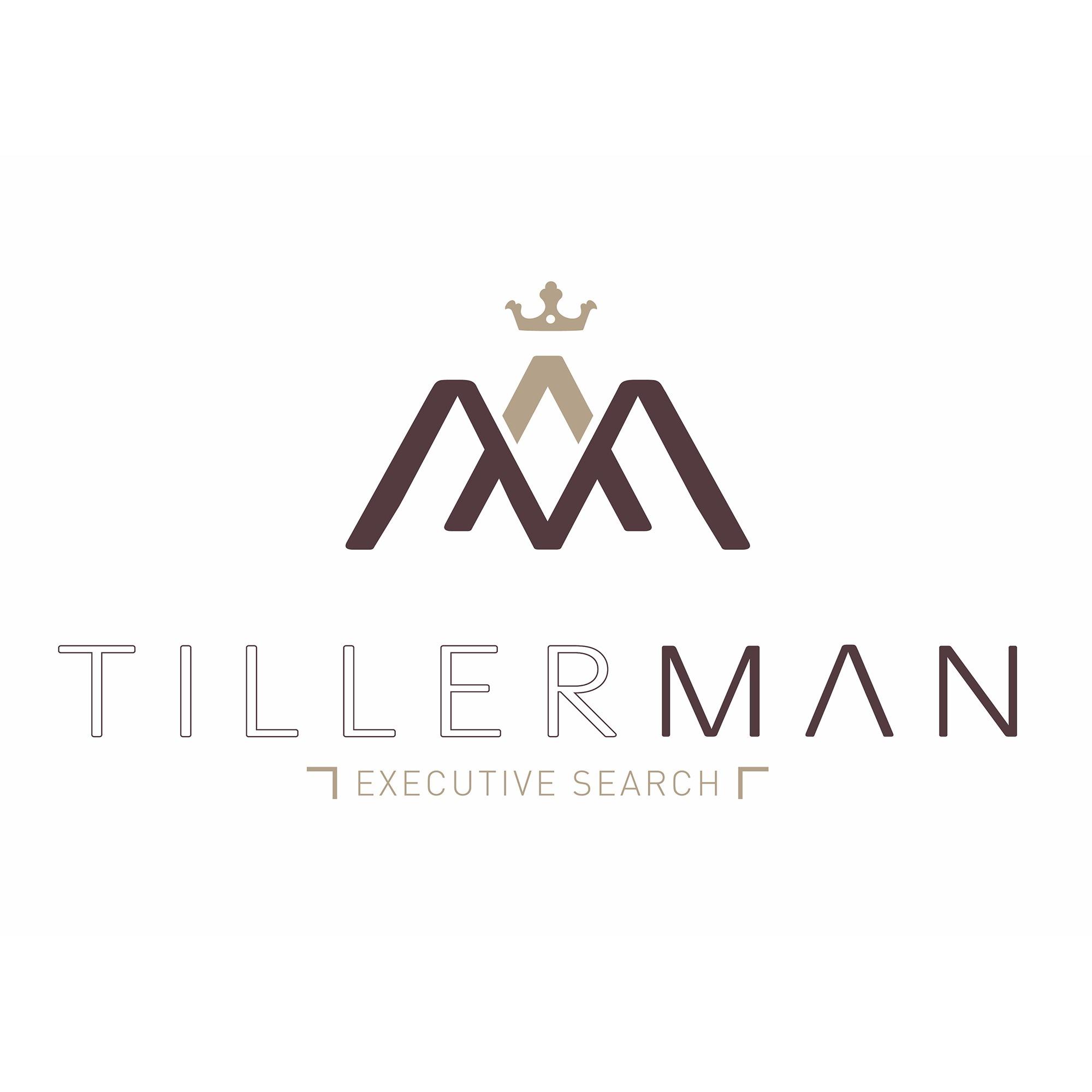 the Tillerman Executive Search logo.