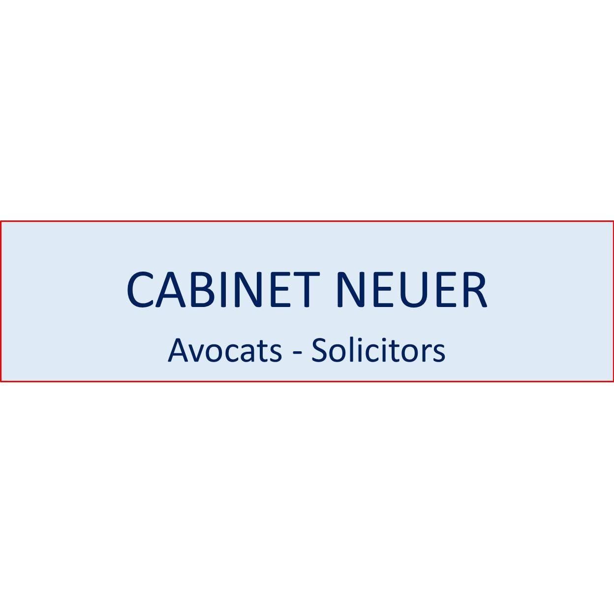 the Cabinet Neuer logo.