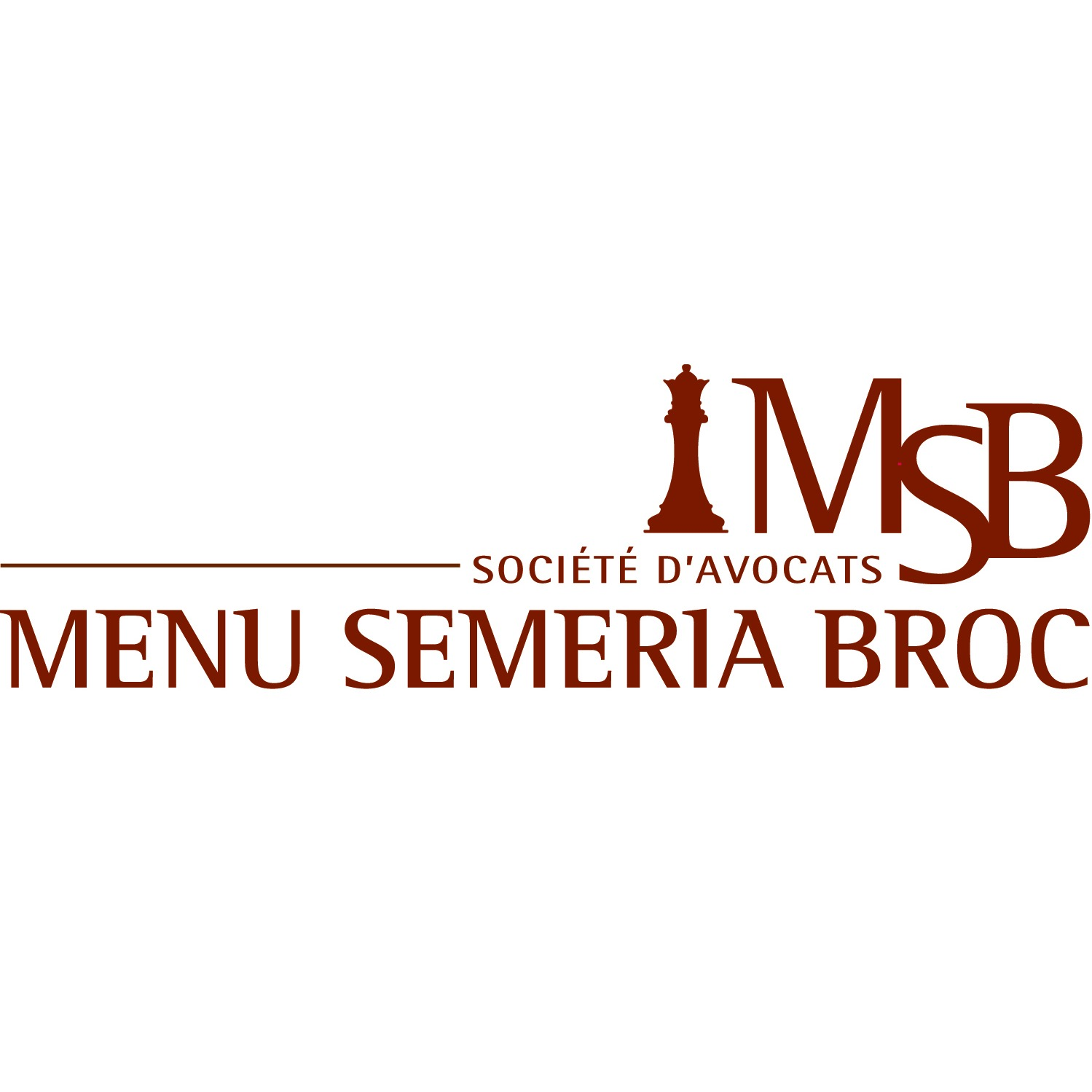 the Menu Semeria Broc logo.