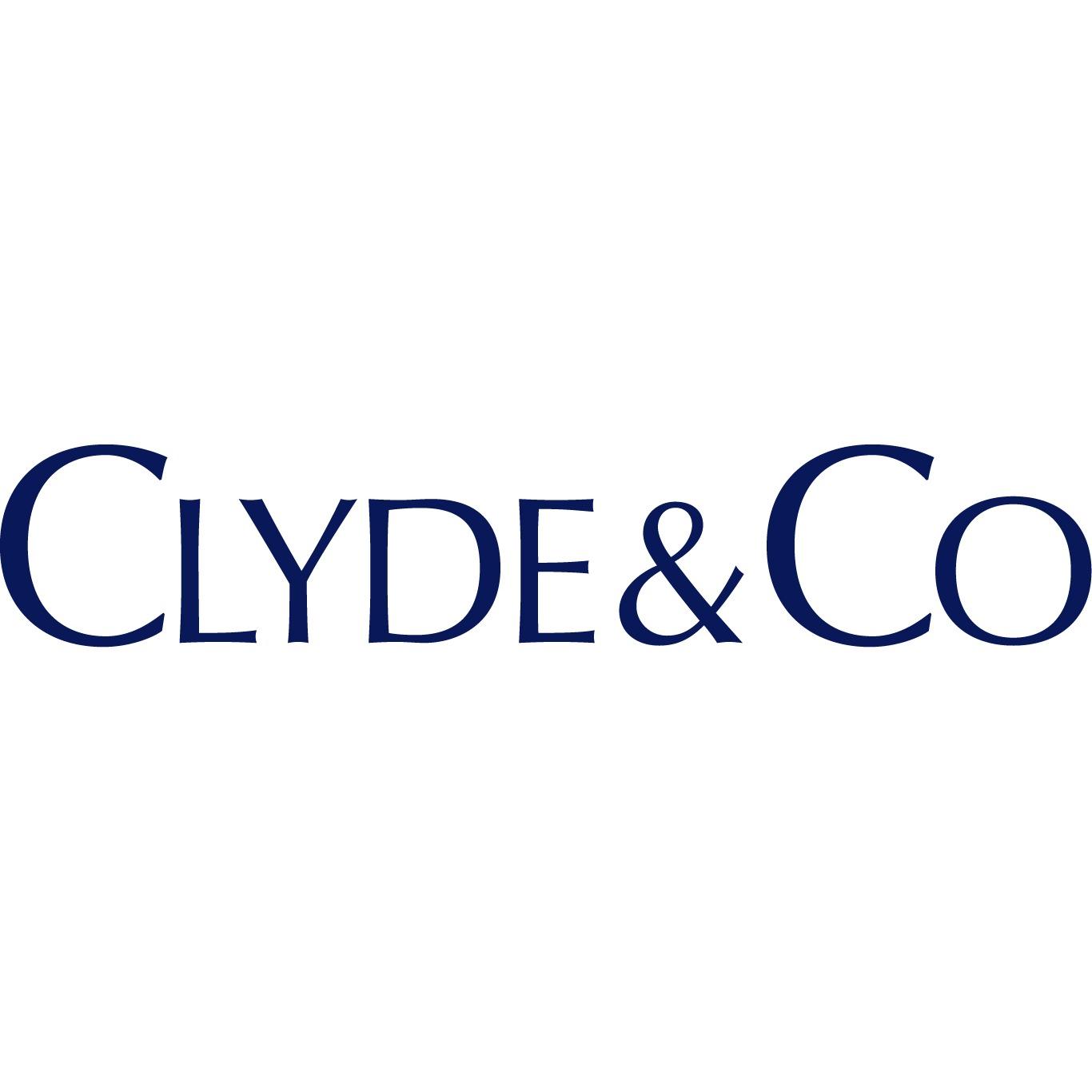the Clyde & Co logo.