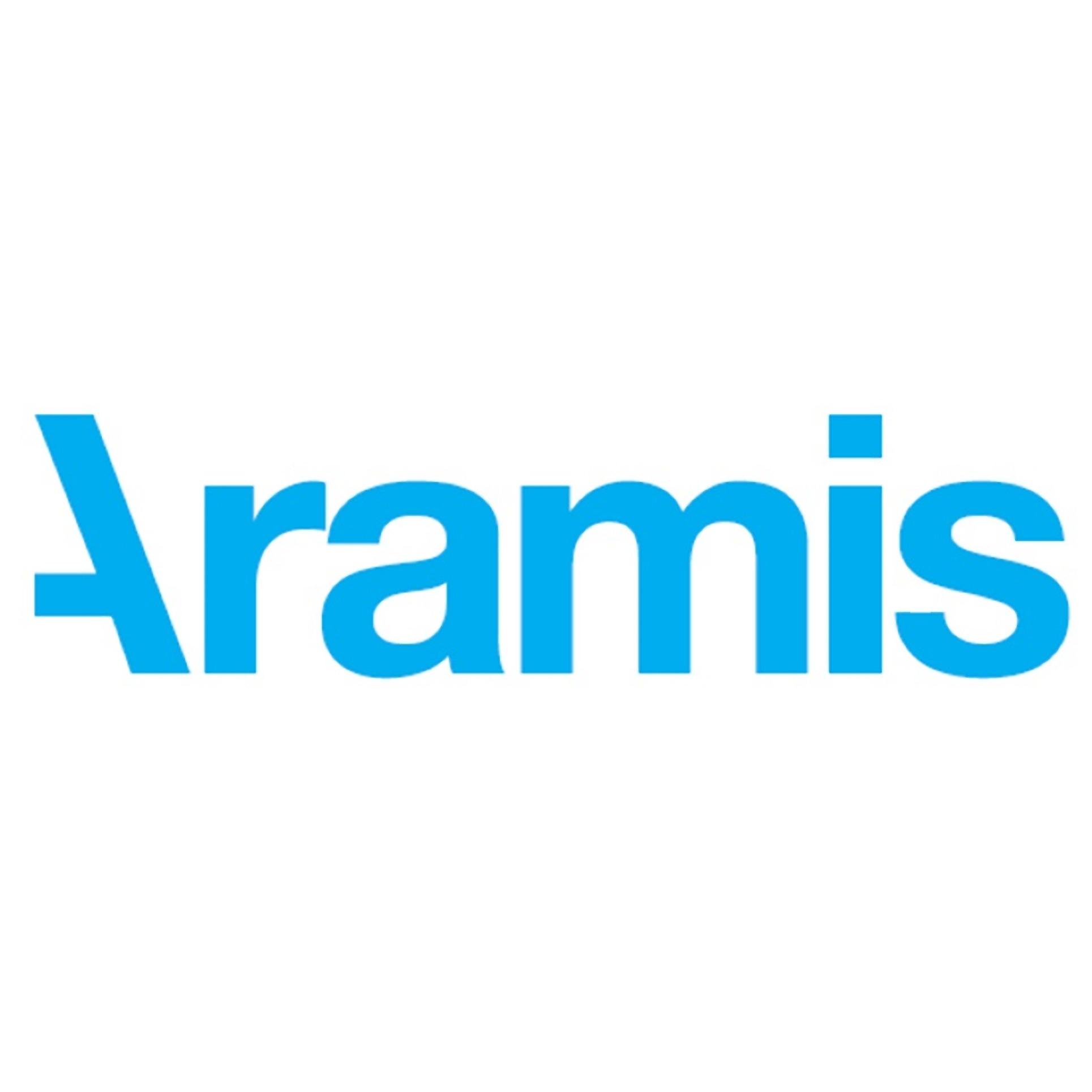 the Aramis logo.