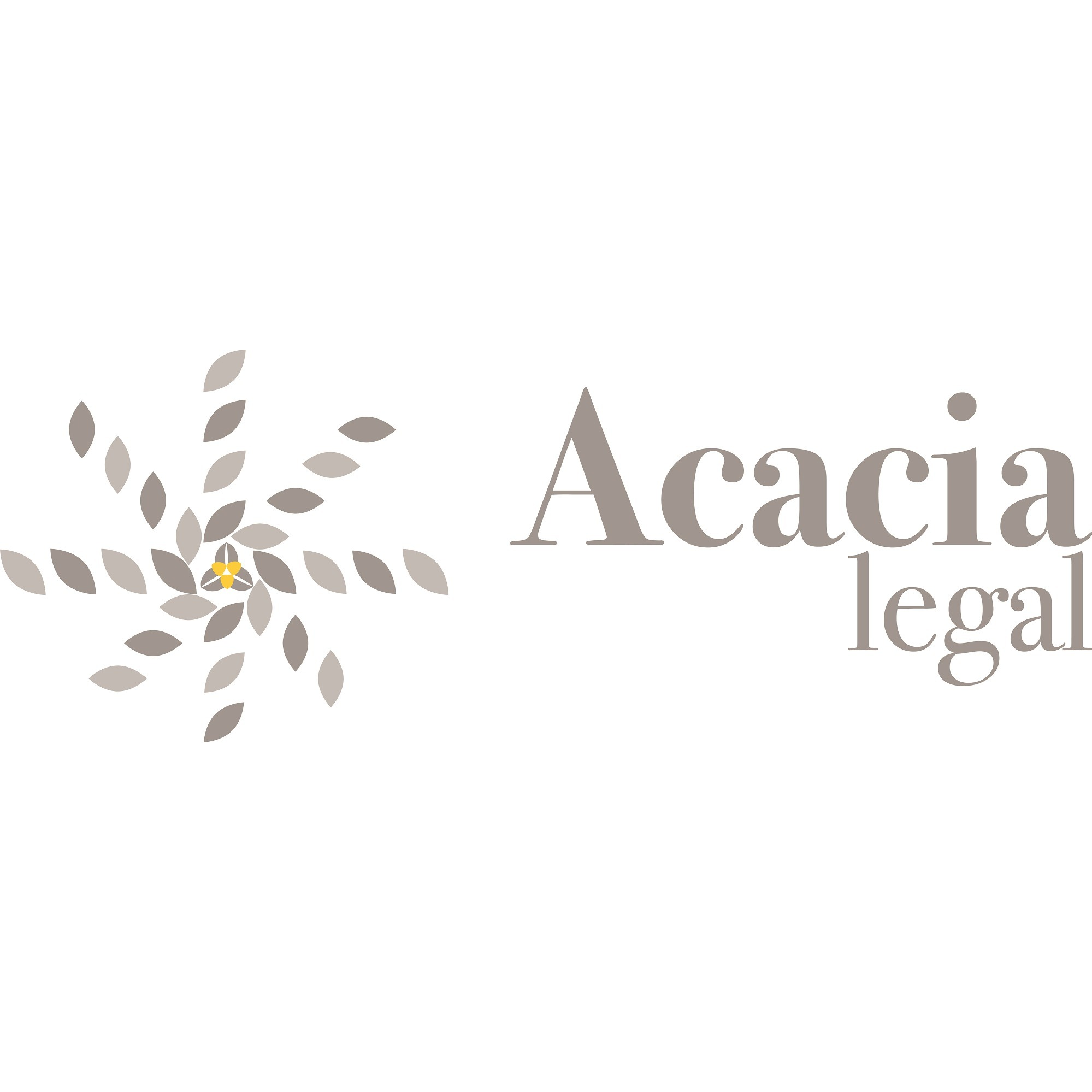 the Acacia Legal logo.