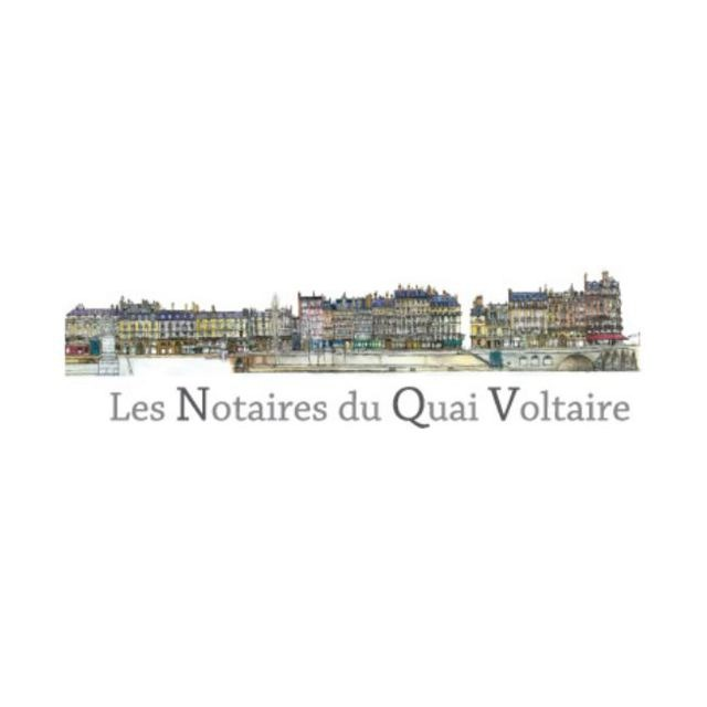 the Les Notaires du Quai Voltaire logo.