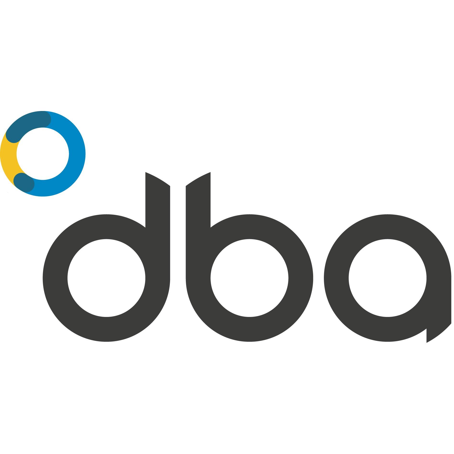 the DBA logo.