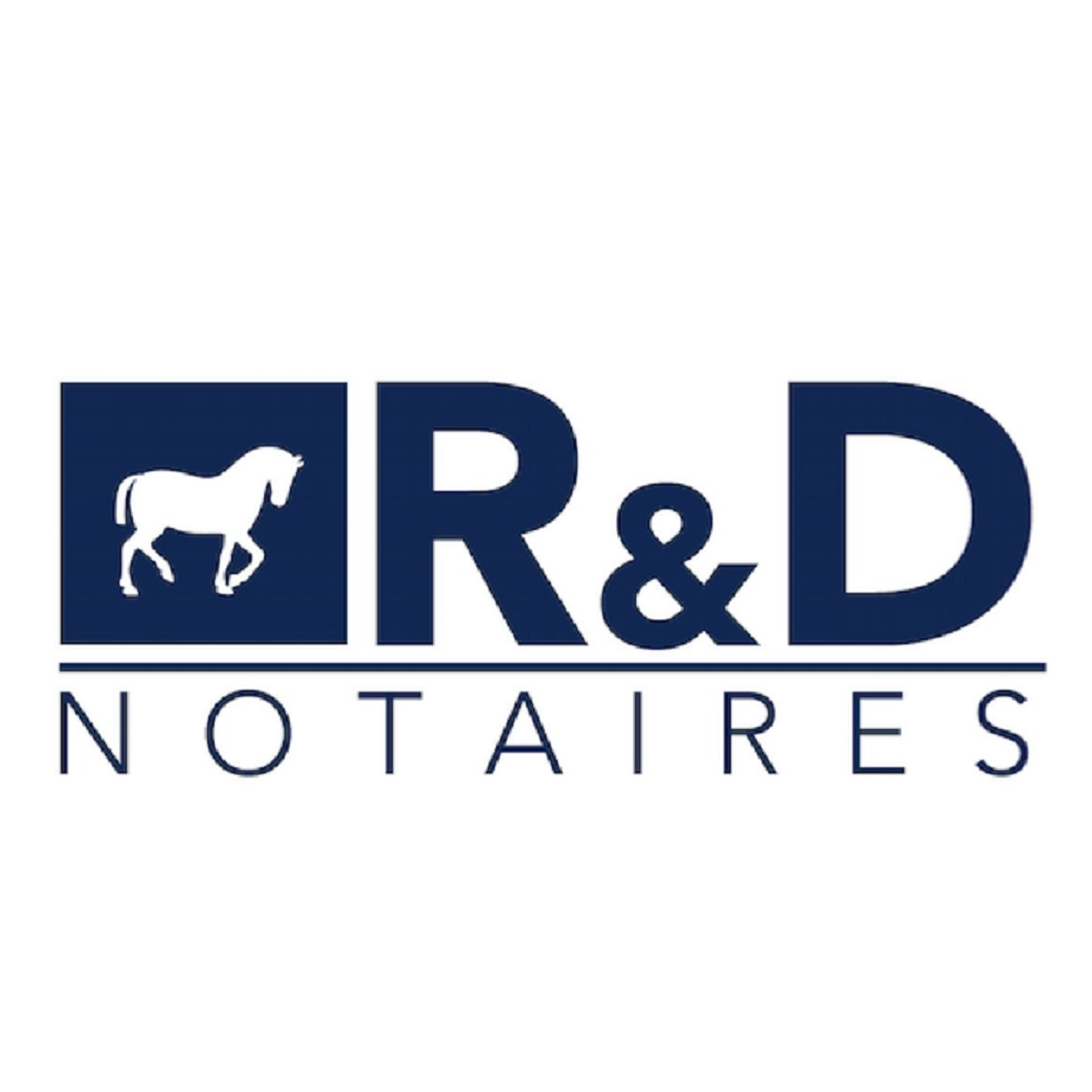 the R&D Notaires logo.