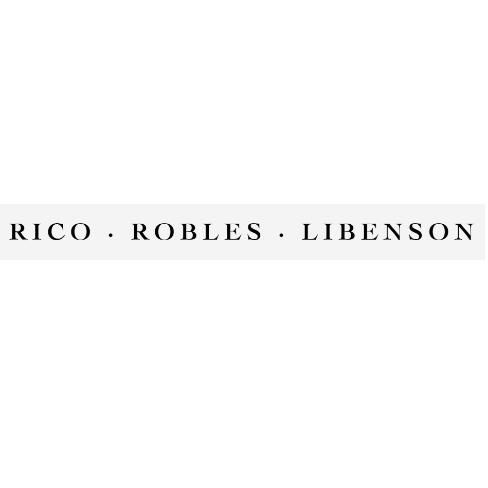 the Rico Robles Libenson logo.