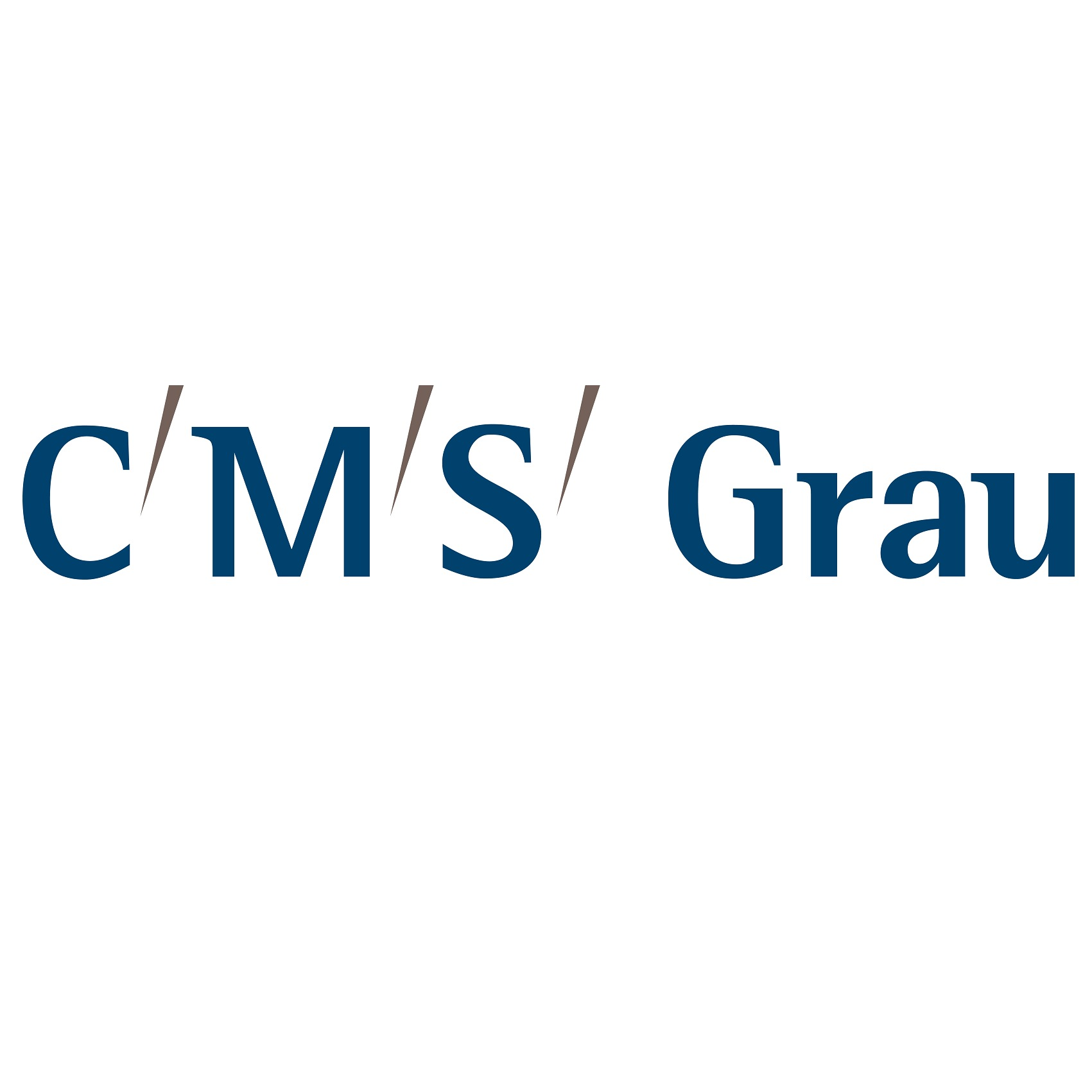 the CMS Grau logo.