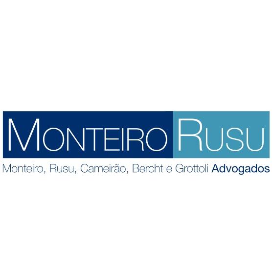the Monteiro, Rusu, Cameirão, Bercht e Grottoli Advogados logo.