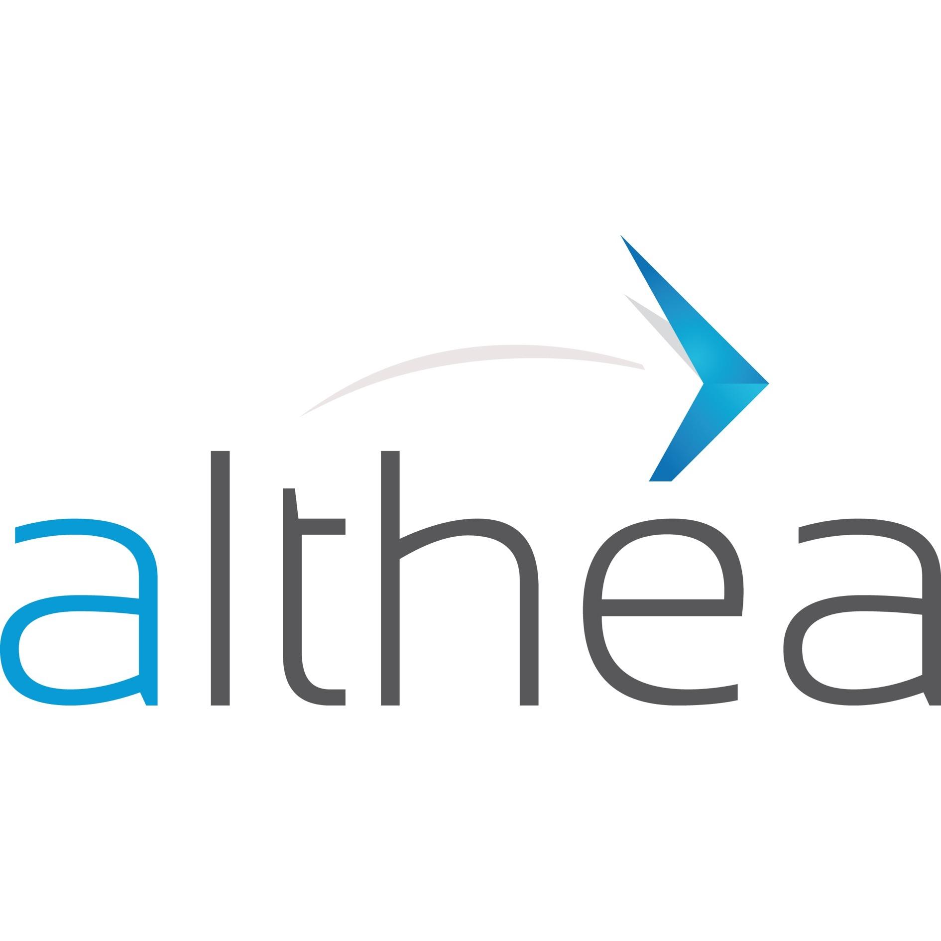 the Althea logo.
