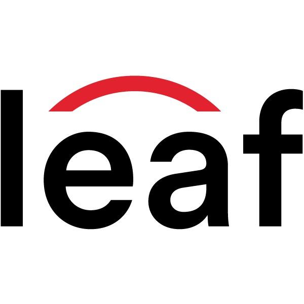 the LEAF logo.