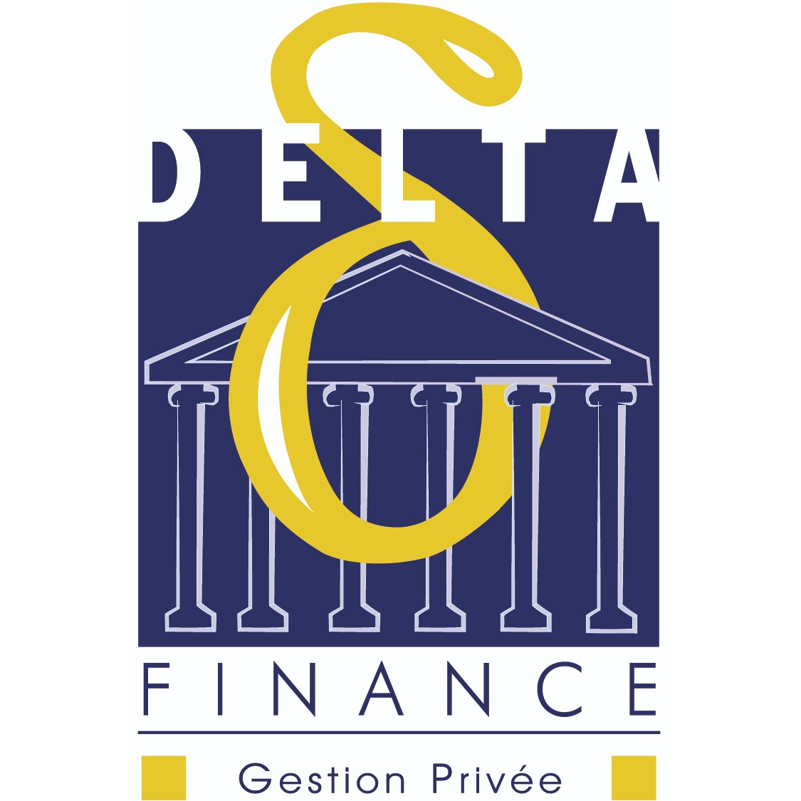 the DELTA FINANCE logo.