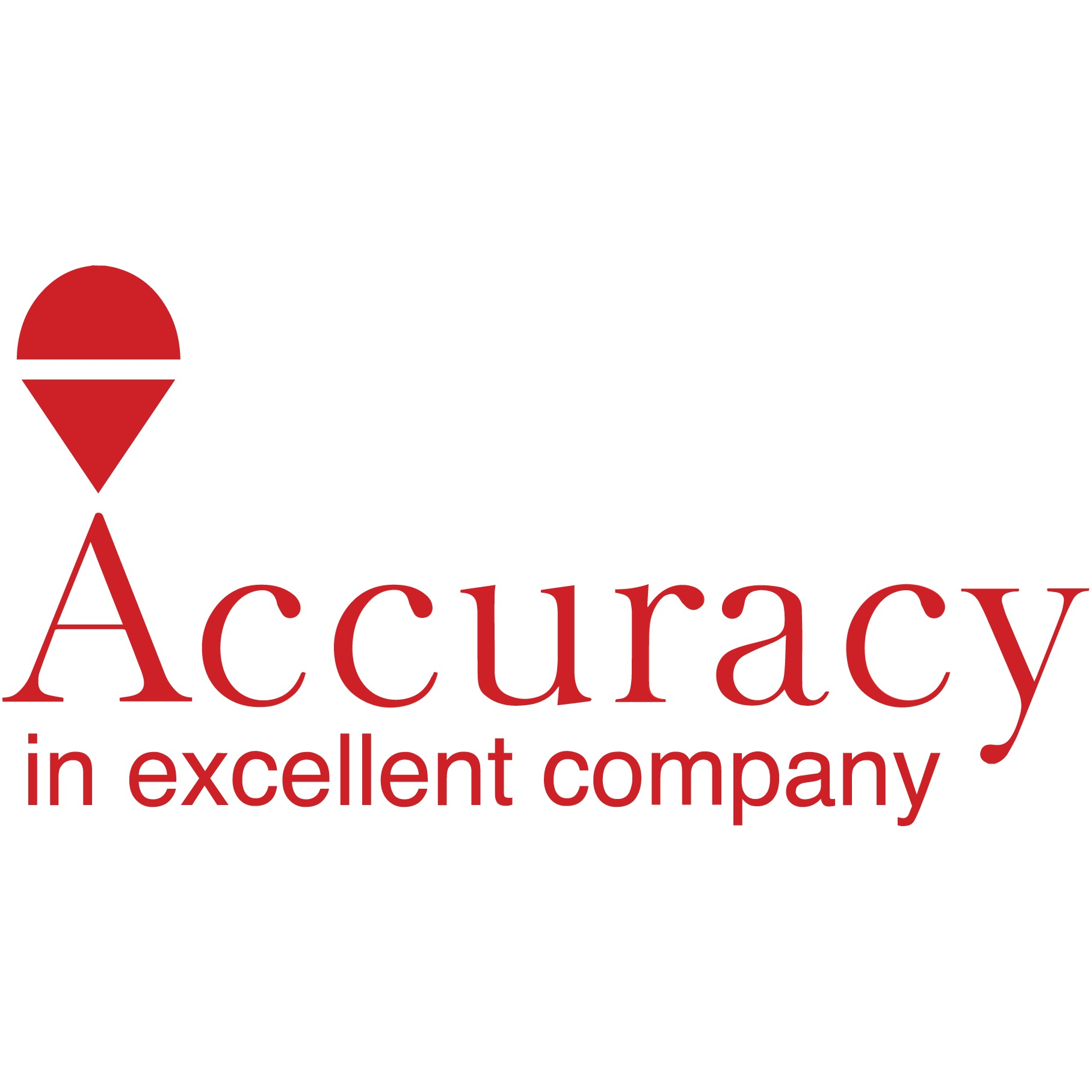 the Accuracy logo.