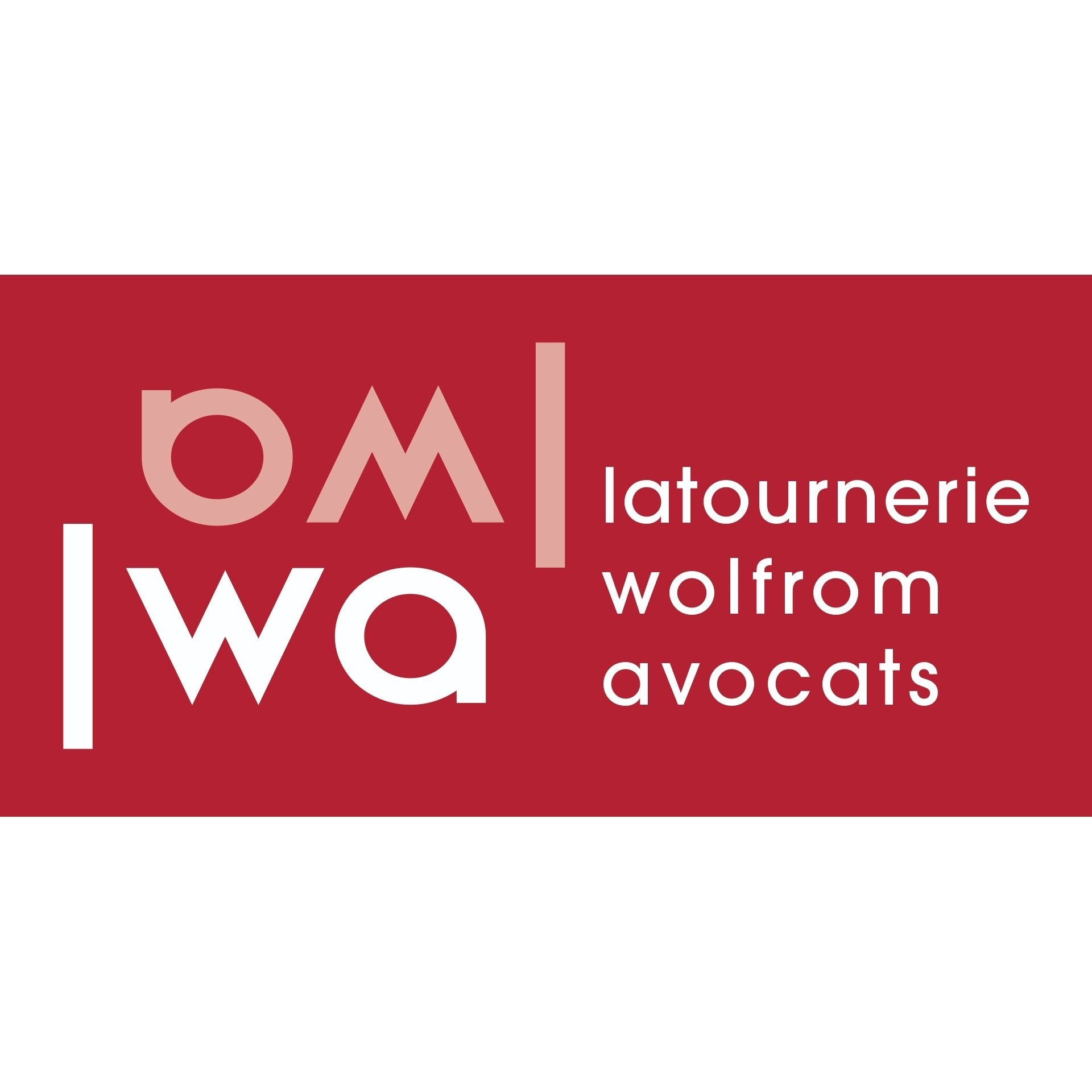 the Latournerie Wolfrom Avocats logo.