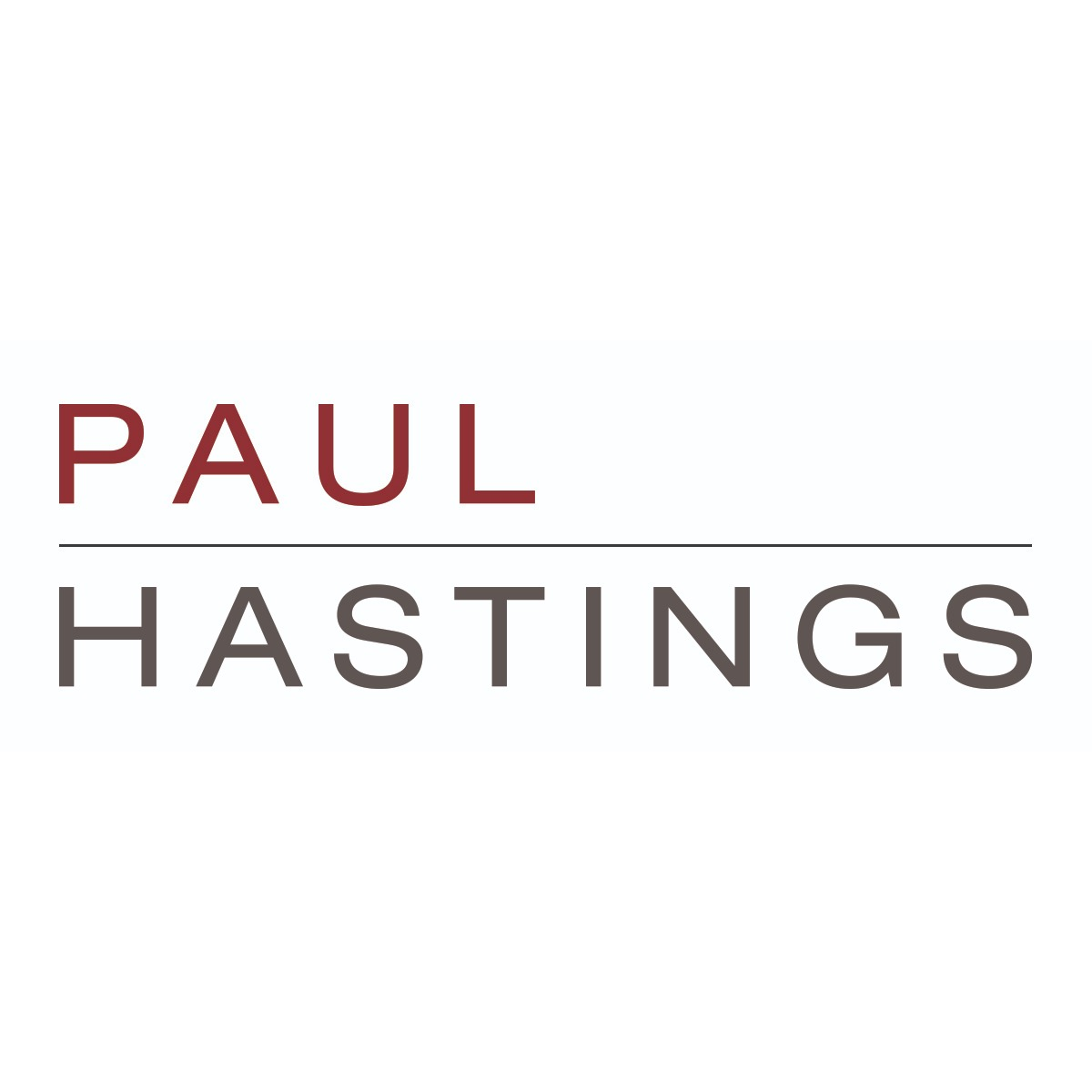 the Paul Hastings logo.