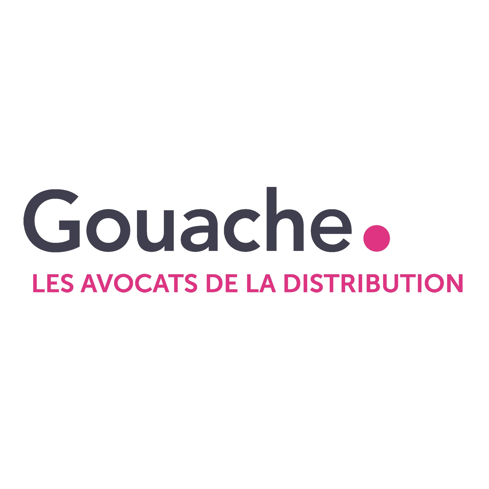 the Gouache Avocats logo.
