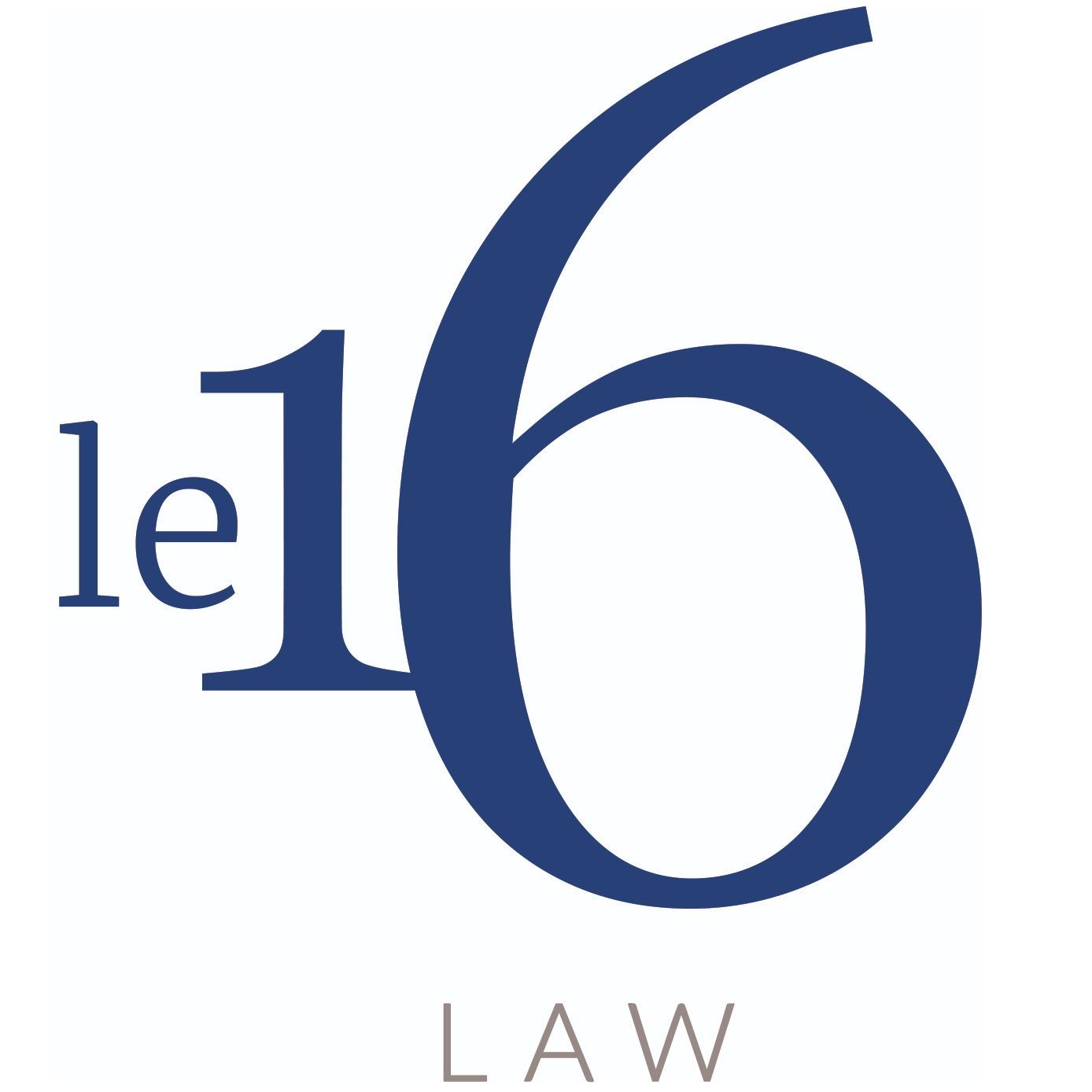 the Le 16 Law logo.