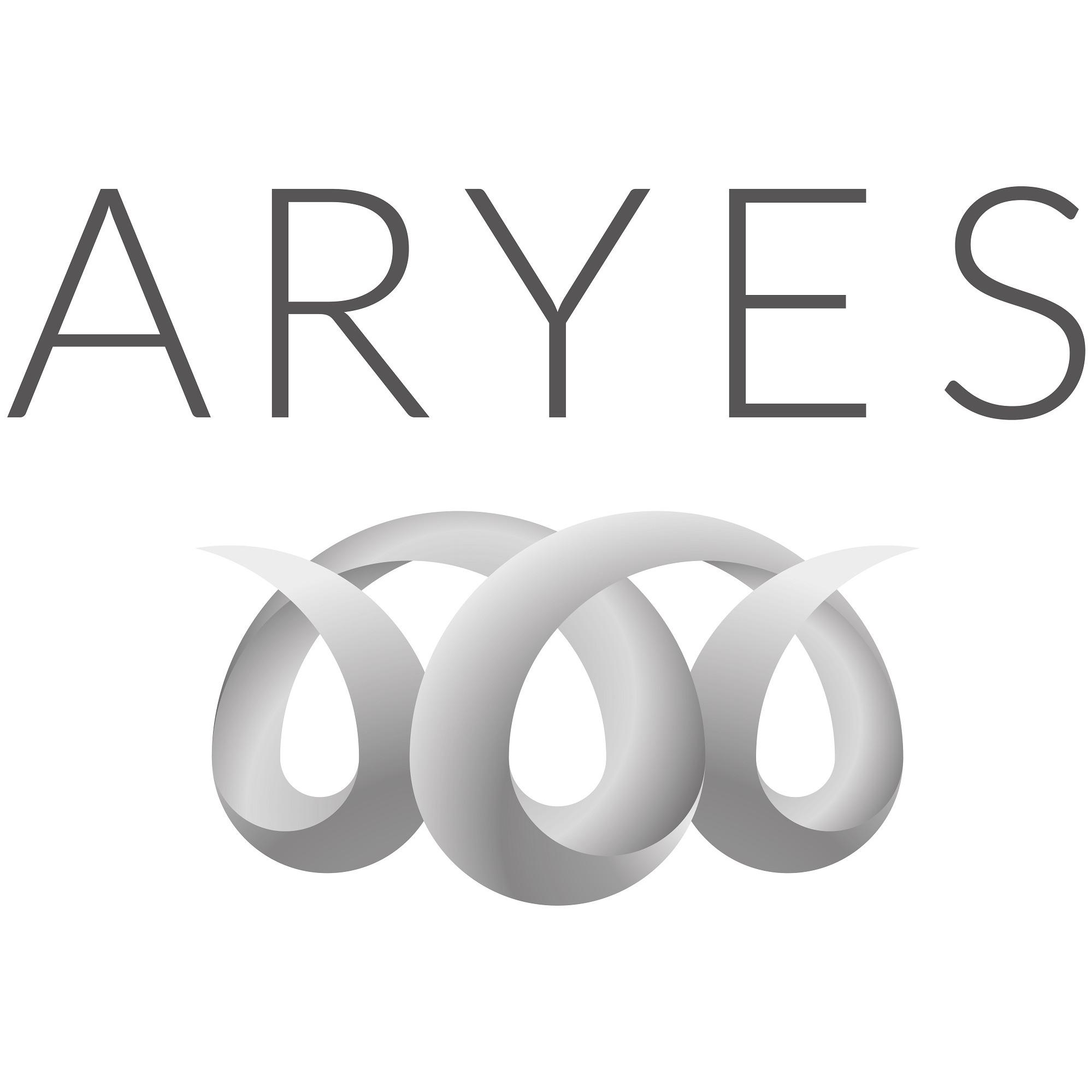 the Aryes logo.
