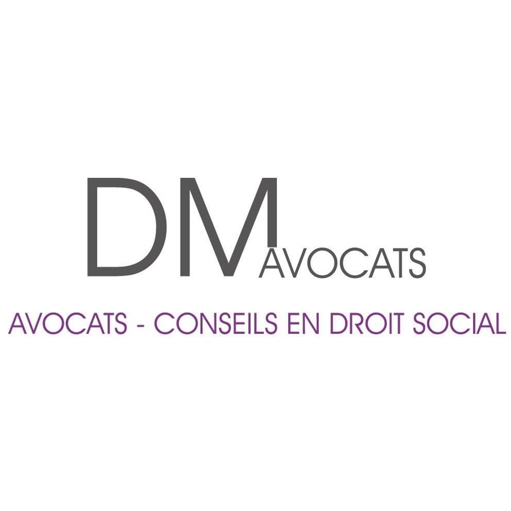 the DM Avocats logo.