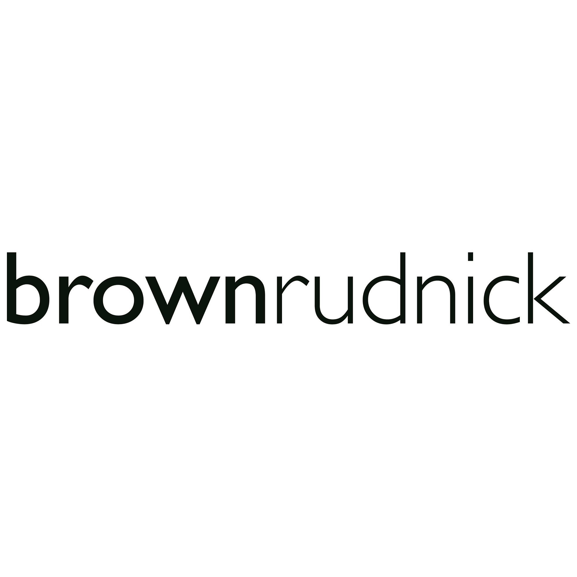 the Brown Rudnick logo.