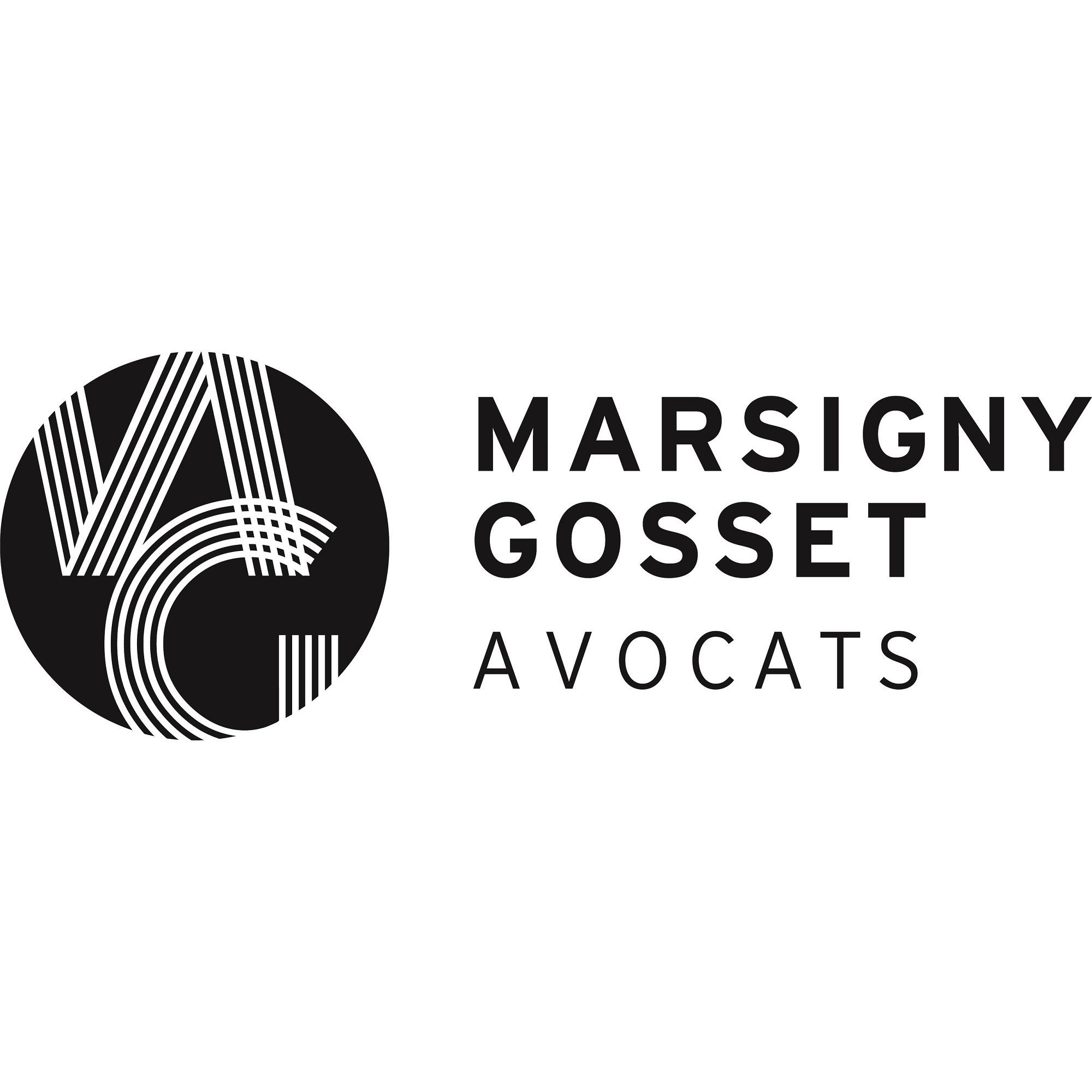 the Marsigny Gosset Avocats logo.