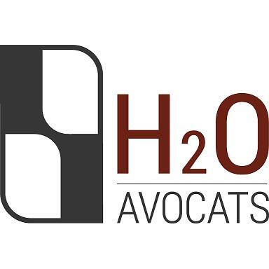 the H2O Avocats logo.