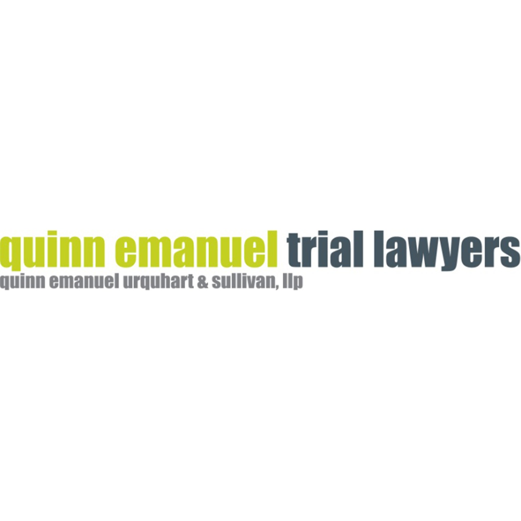 the Quinn Emanuel Urquhart & Sullivan logo.