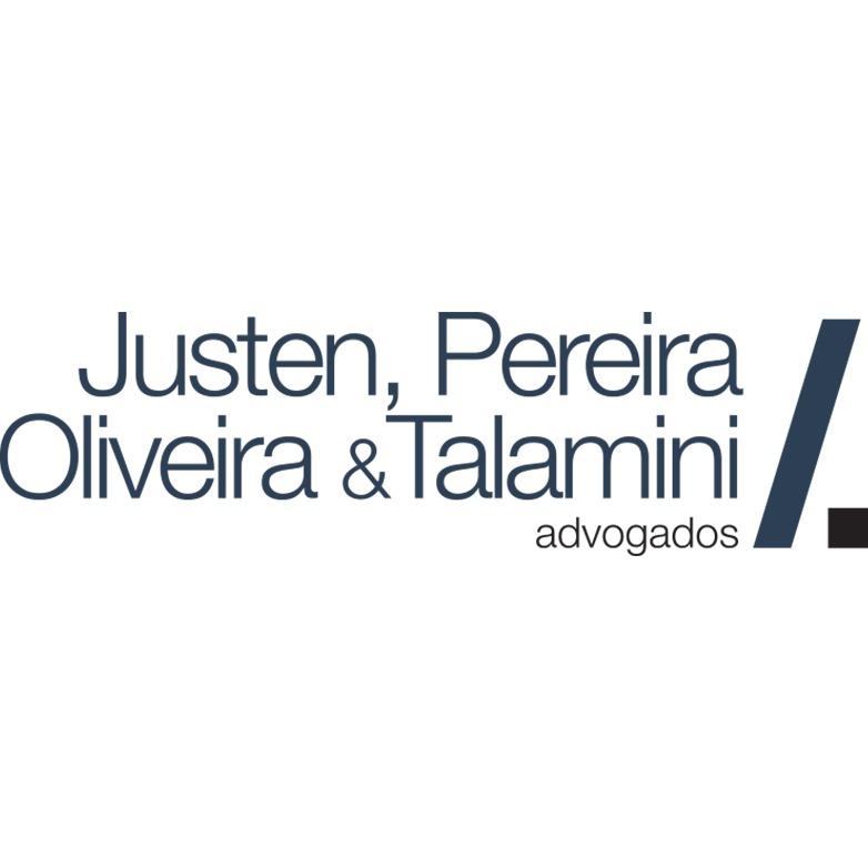 the Justen, Pereira, Oliveira & Talamini logo.