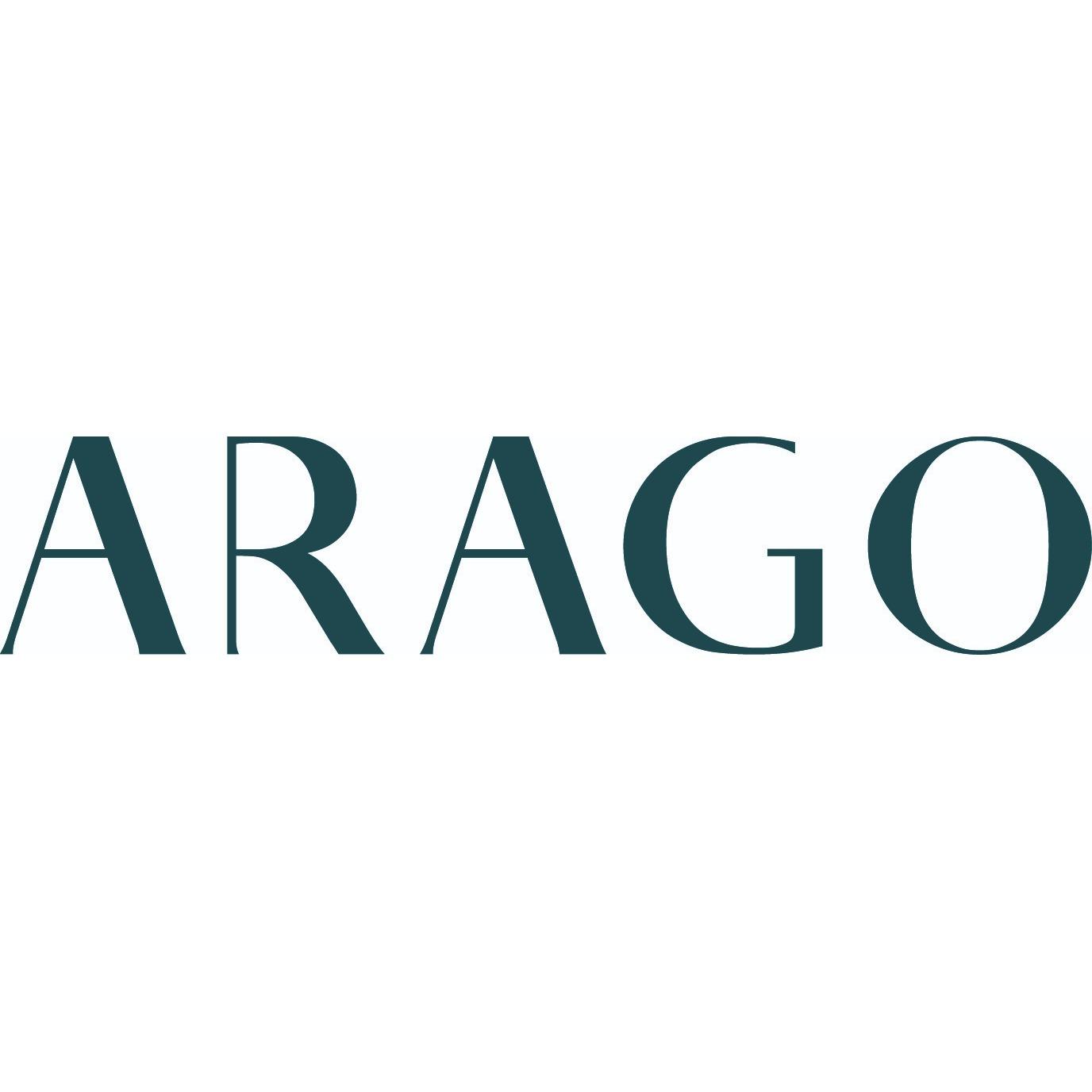 the Arago logo.