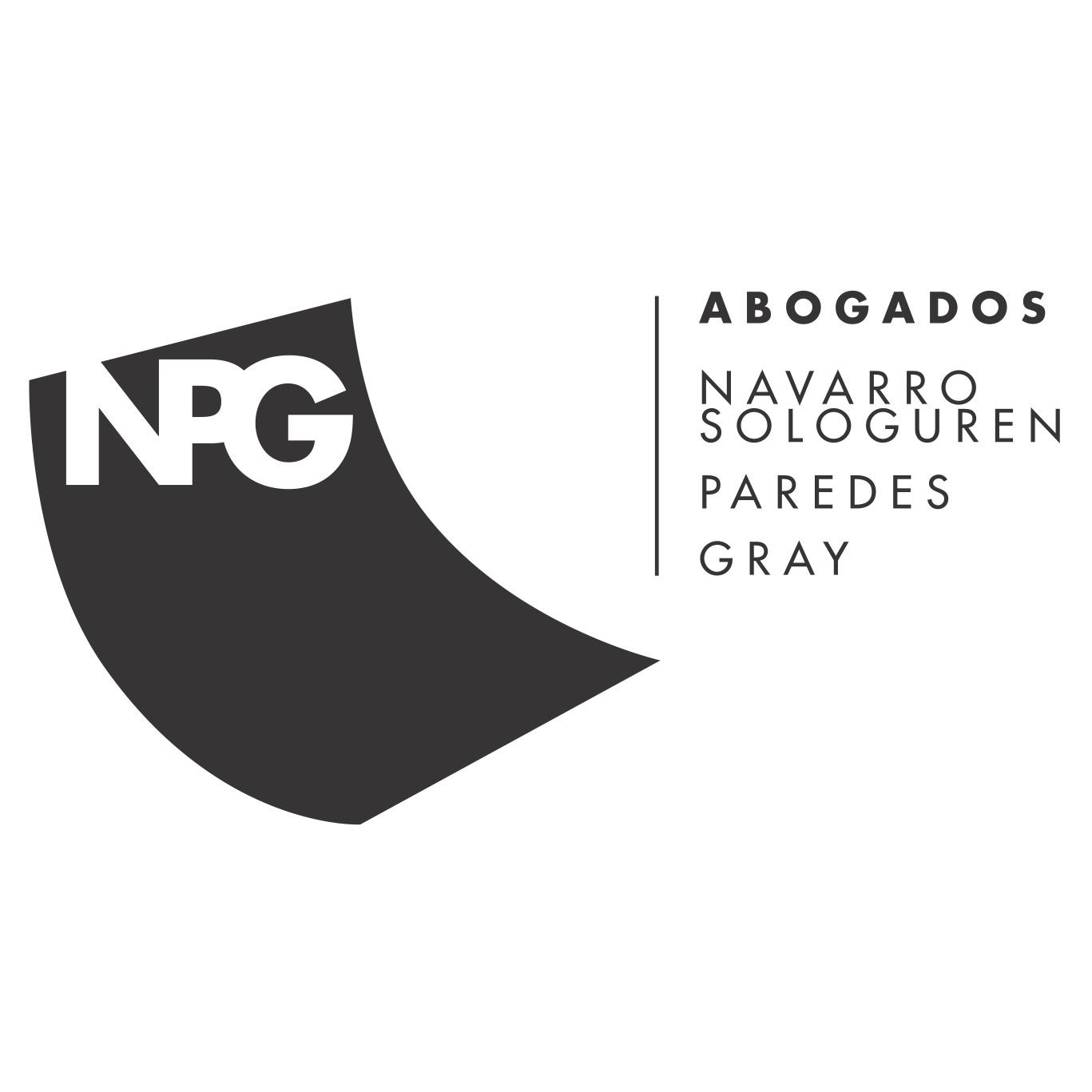 the Navarro Sologurren Paredes Gray logo.