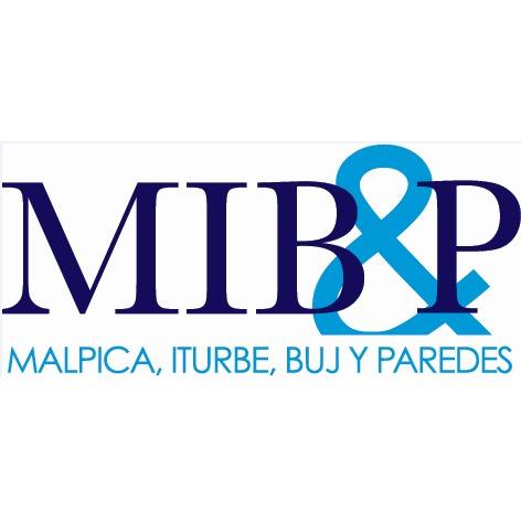the Malpica, Iturbe, Buj y Paredes logo.