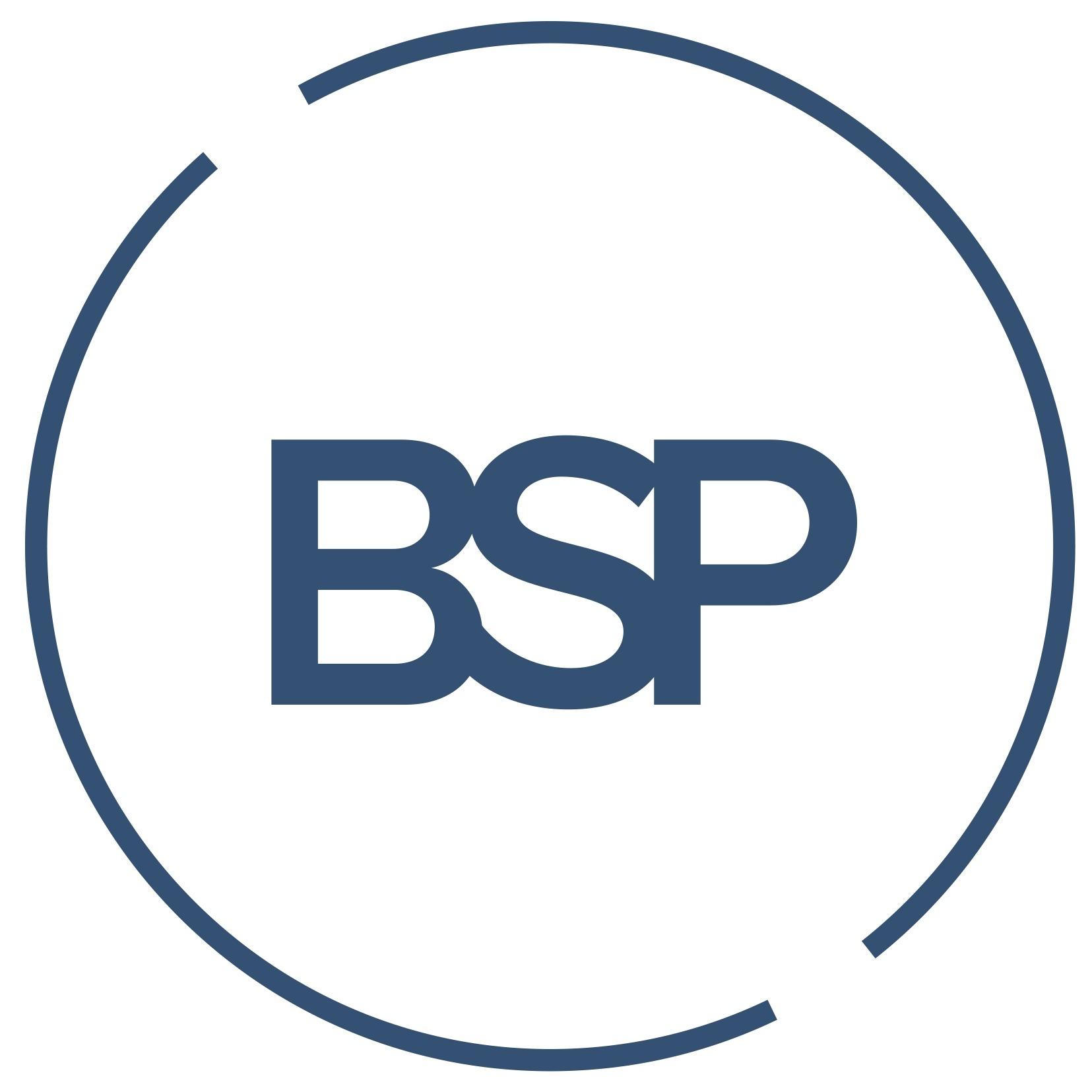 the BSP logo.