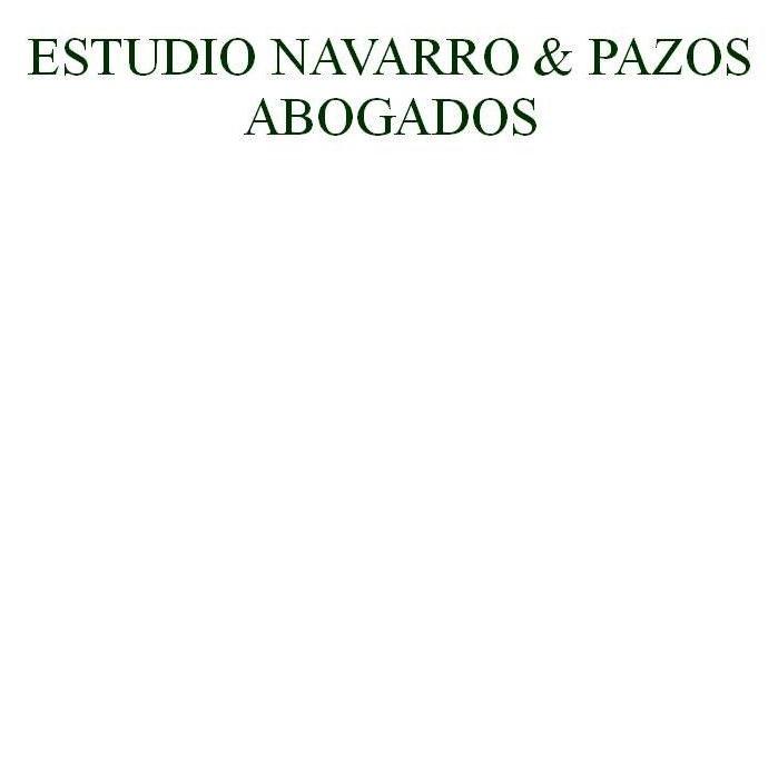 the Navarro & Pazos Abogados logo.
