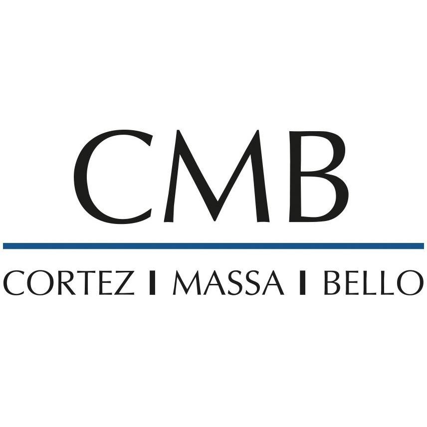 the Cortez Massa & Bello Abogados logo.