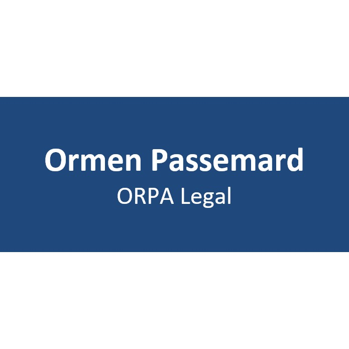 the Ormen Passemard-Orpa Legal logo.
