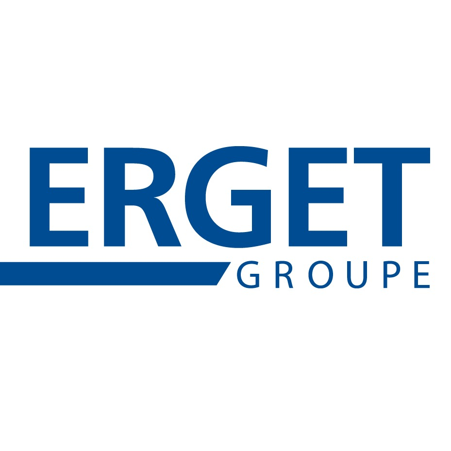 the Erget Group logo.