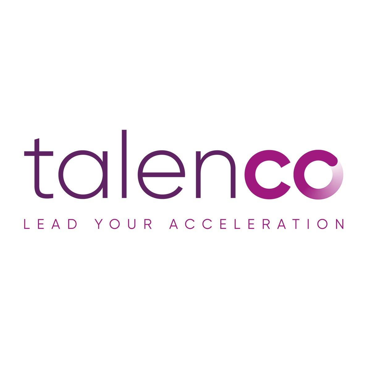 the Talenco logo.