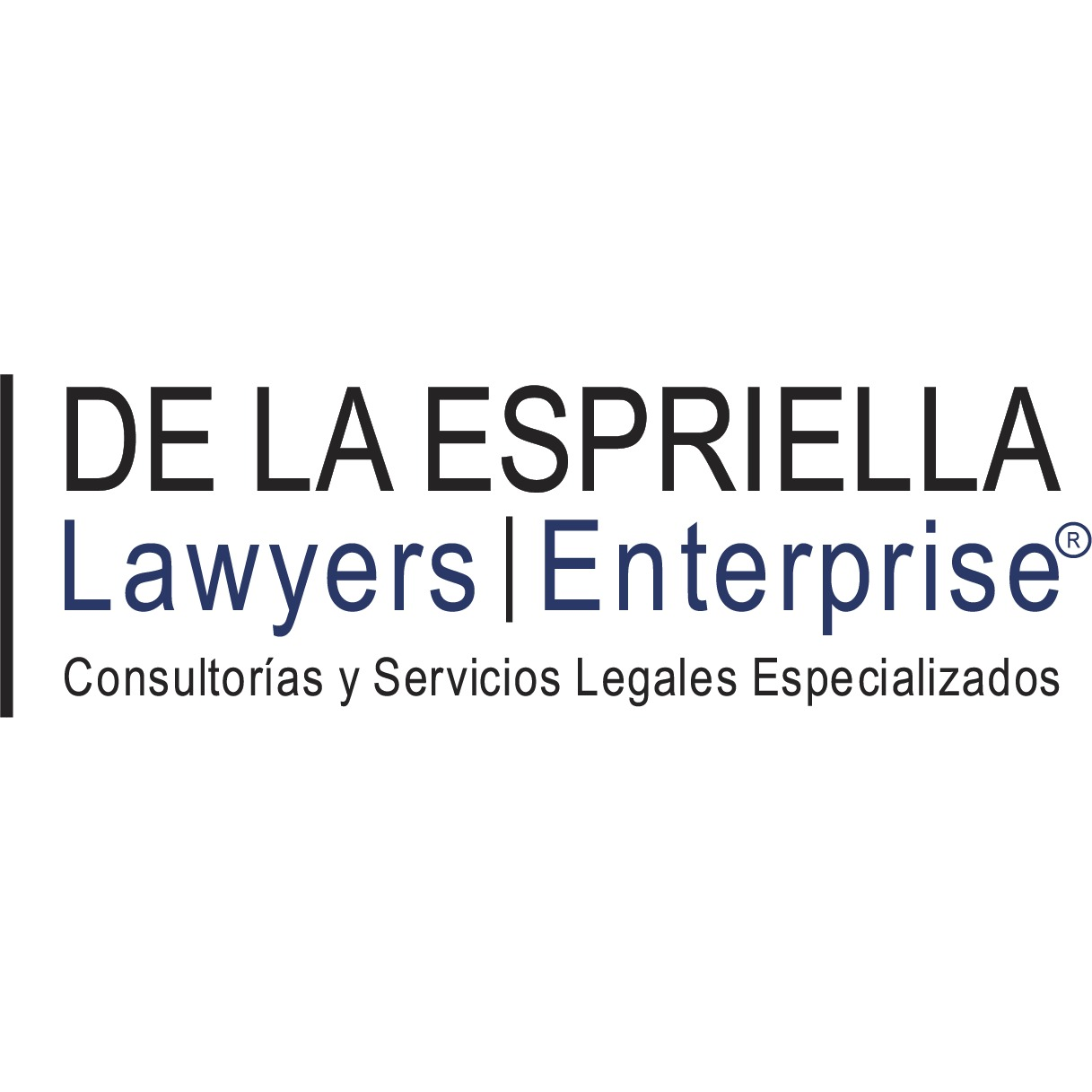 the De La Espriella Lawyers Enterprise logo.