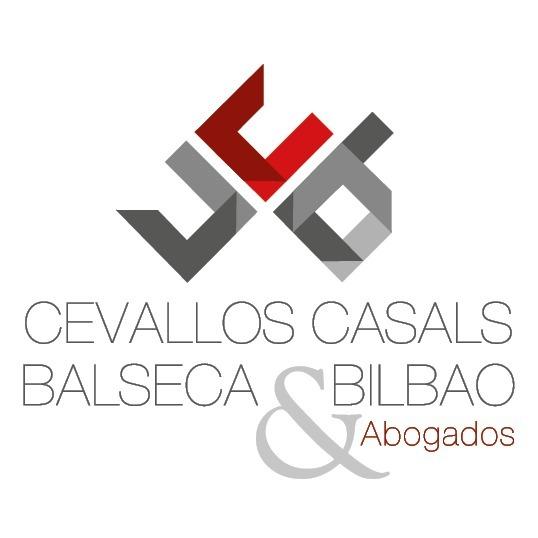the CCB Abogados - Cevallos, Casals, Balseca & Bilbao Abogados logo.