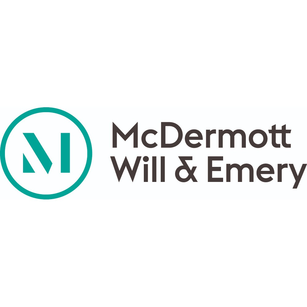 the McDermott Will & Emery logo.