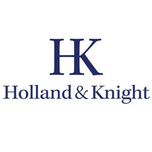 the Holland & Knight logo.