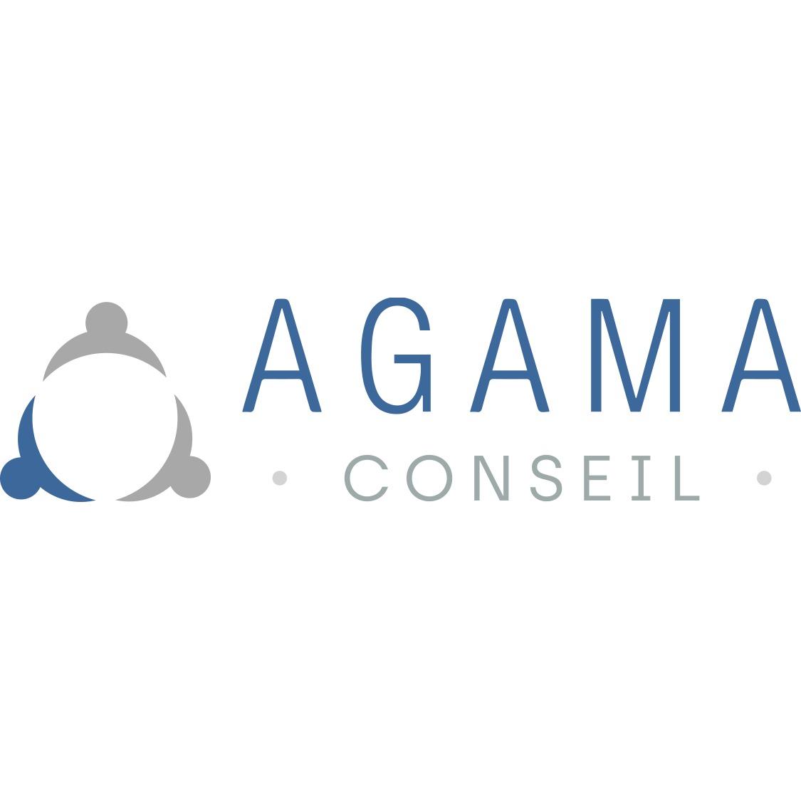 the Agama Conseil logo.