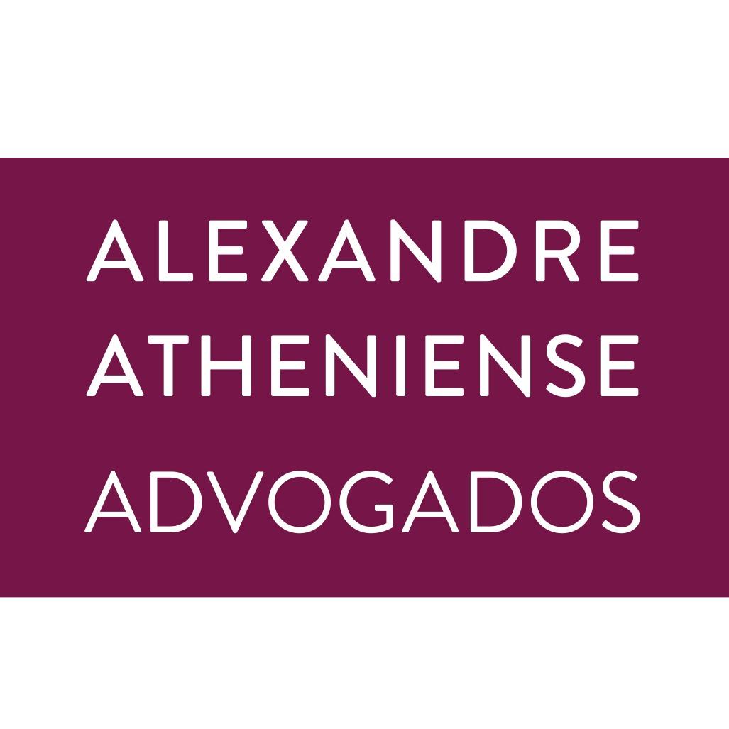 the Alexandre Atheniense Advogados logo.