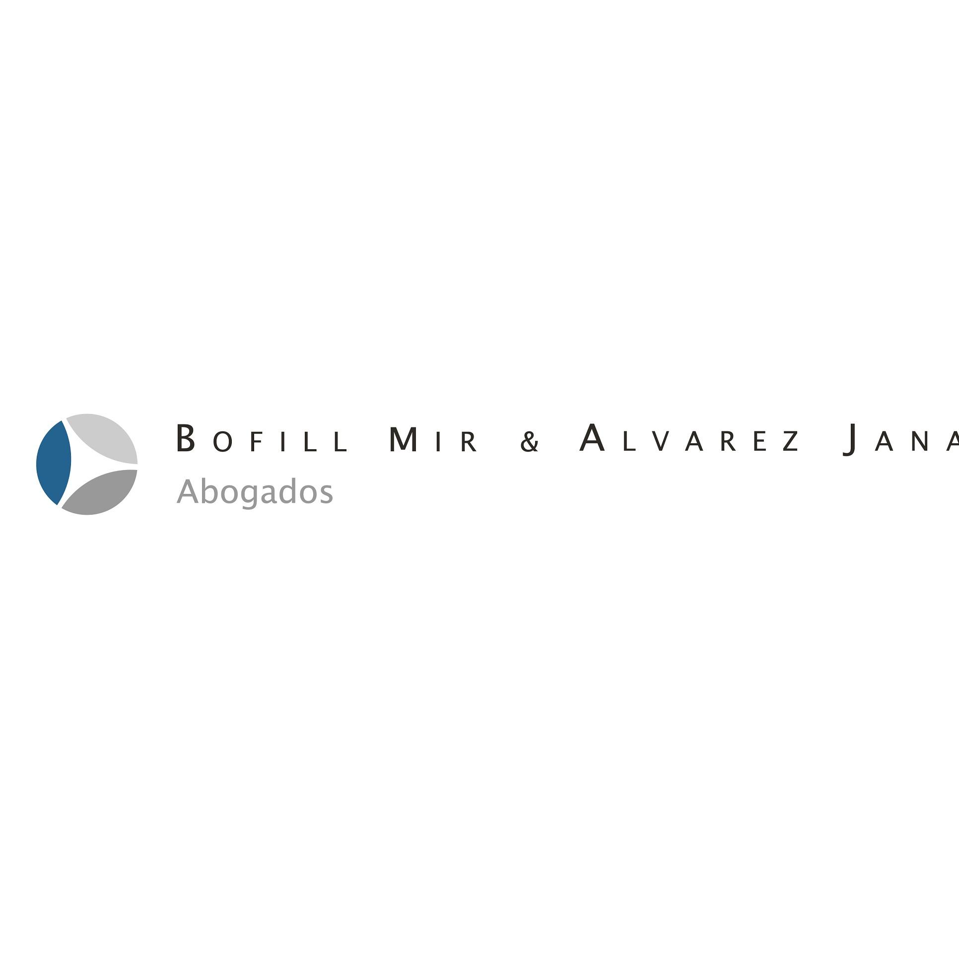 the Bofill Mir & Álvarez Jana Abogados logo.