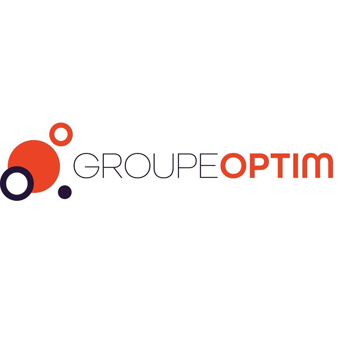 the Groupe Optim logo.